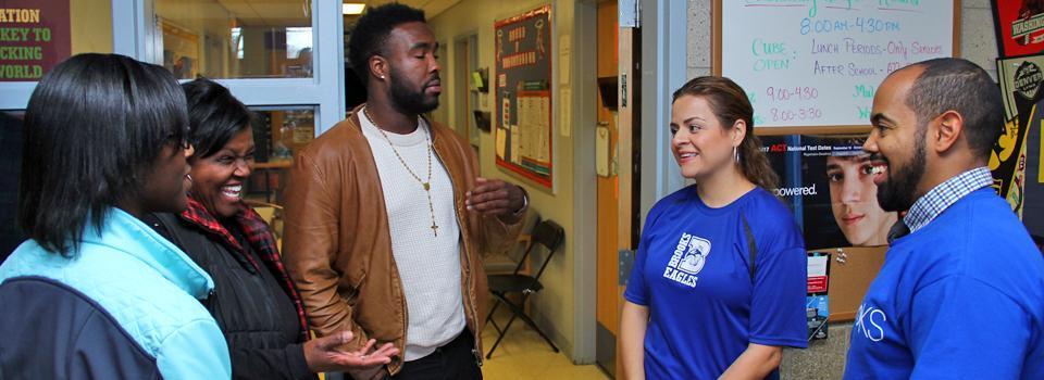 Parents and Teachers Talking