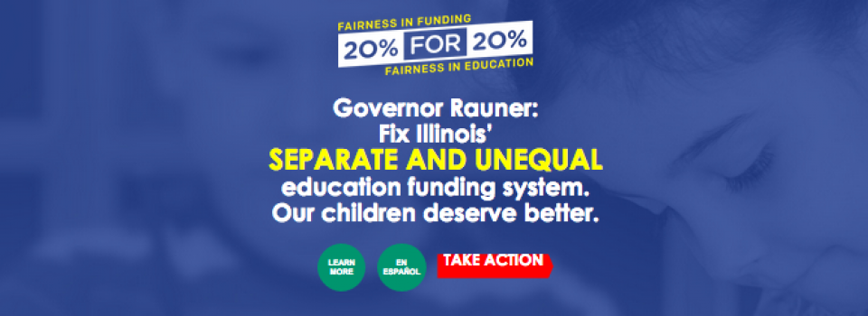 20% for 20% Funding for CPS Students