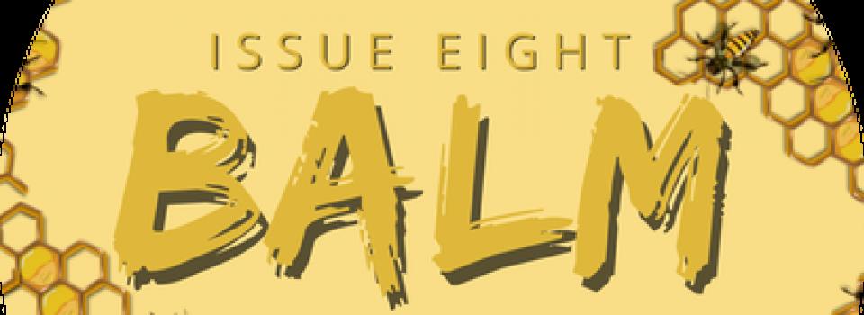 Logo of the BALM student magazine.